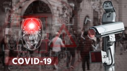 Camera with face recognition and thermal imager system to search for patients with coronavirus
