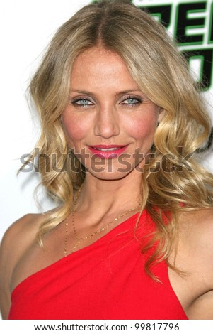 "Cameron Diaz at ""The Green Hornet"" Los Angeles Premiere, Chinese Theater, Hollywood, CA. 01-10-11"