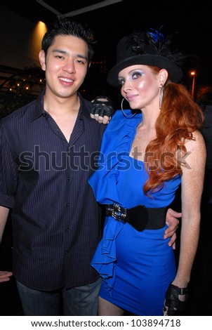 Cameron Lee and Phoebe Price at the Celebrity Birthday Party For Phoebe Price. Coco Deville, West Hollywood, CA. 09-29-09 - stock photo
