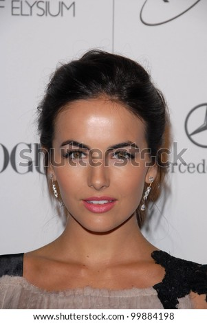 "Camilla Belle at the 2011 Art Of Elysium ""Heaven"" Gala, Annenberg Bldg., California Science Center, Los Angeles, CA. 01-15-11"