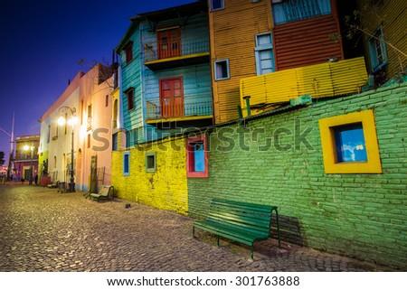 Shutterstock Caminito de La Boca, Buenos Aires