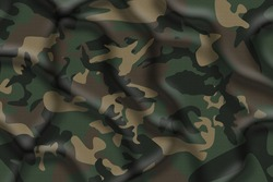Camouflage fabric cloth texture - abstract Background and texture