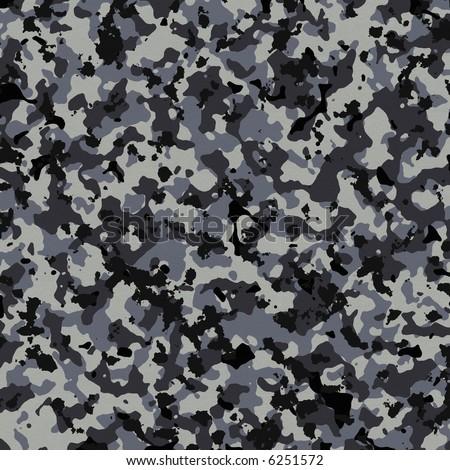 ArtbyJean - Butterflies: Navy blue and mushroom patterns on a