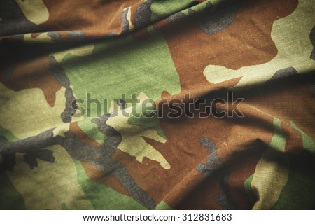 Camouflage pattern - part of army suit