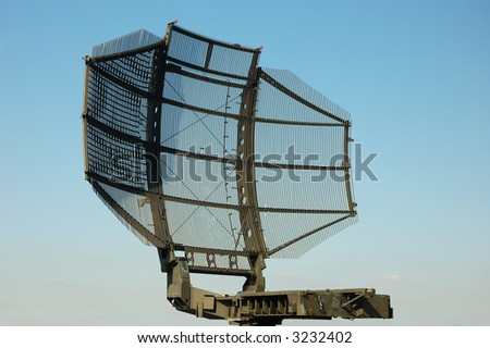 camouflaged tactical military satellite dish