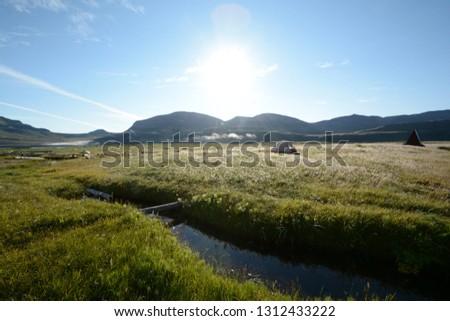 Camp in Hornstrandir #1312433222