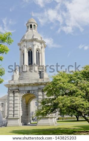 Campanile of Trinity College, Dublin, Ireland