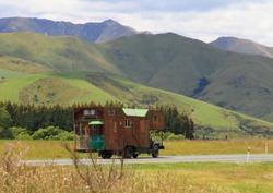 Campervan cottage at New Zealand