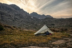 Camping in the Holy Cross Wilderness, Colorado