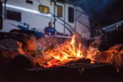 Camping with my Hun