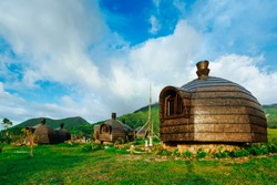 Campuestohan highland resort cottages in Bacolod, Philippines