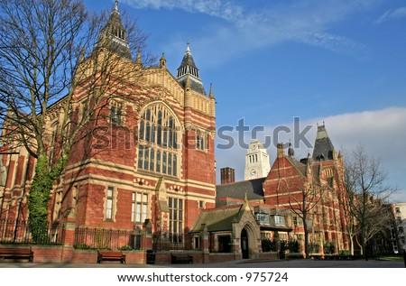 Campus of University of Leeds, UK
