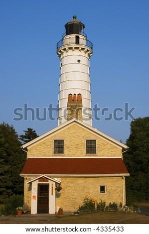Cana Island Light House with Living Quarters