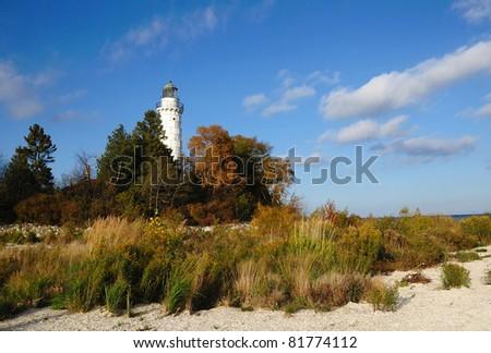 Cana Island Lighthouse Door County, Wisconsin
