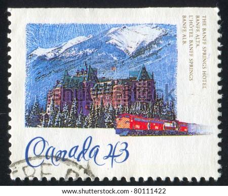 canada   circa 1993  stamp...