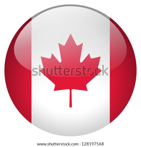 Canada flag button
