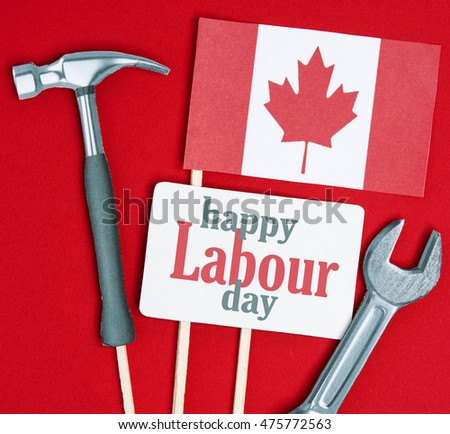 Free photos labour day avopix canada happy labor day greeting card canadian cardboard hammer wrench grunge abstract card m4hsunfo
