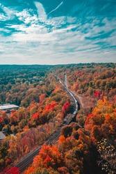 Canada Ontario Hamilton Dundas Peak Train Track