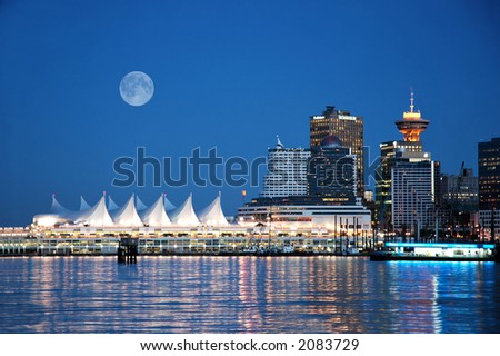 Canada Place, Vancouver, B.C. - stock photo