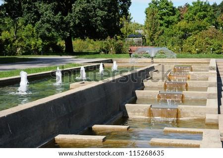 Canada, Quebec, the Botanical Garden of Montreal