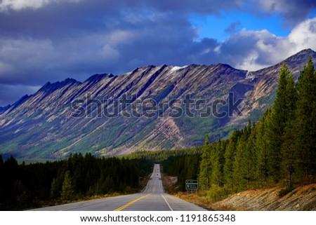 Canada Rocky Mountains #1191865348