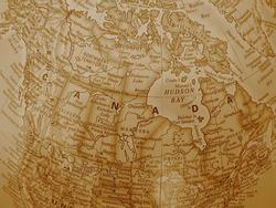 Canada - sepia tone