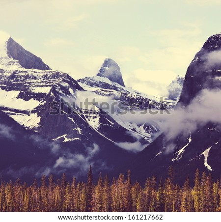 Canadian mountains #161217662