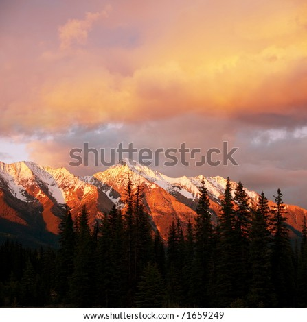 Canadian mountains