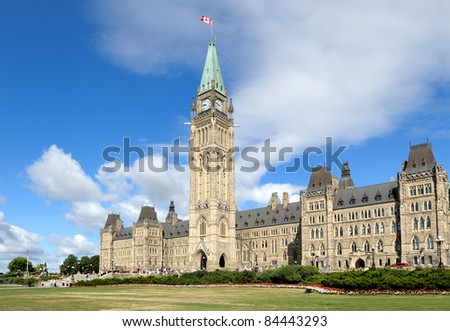 Canadian Parliament (Parliament Hill)