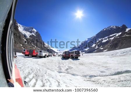 Canadian Rockies, Columbia Icefield, Glacier #1007396560