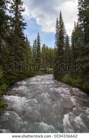 Canadian Rockies in Banff #1034336662