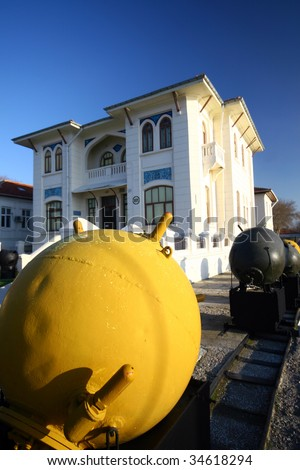 Canakkale Military Museum Sea Mines From First World War ...