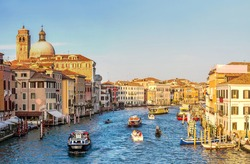 Canal Grande in a summer day in Venice, Italy