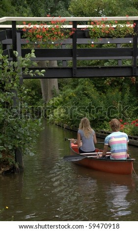 Canal in Giethoorn