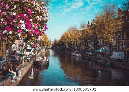 Canals of Amsterdam #1330593701