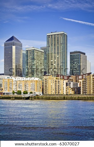 stock photo : Canary Wharf,