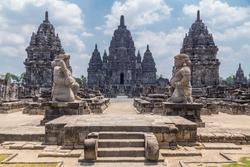 Candi Sewu, part of Prambanan Hindu temple, Indonesia