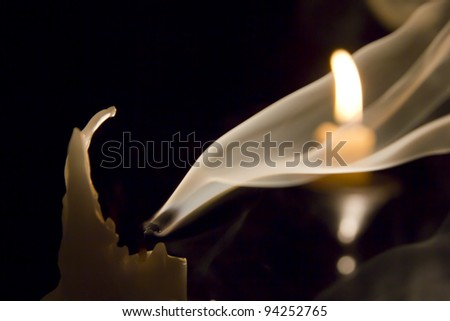Candle in the wind..