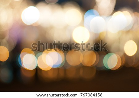 candle light boke blur for background/Street lights boke blur for background/bokeh background. defocused #767084158