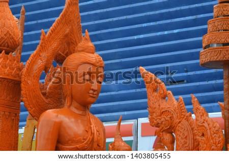 Candle parade Ubon Ratchathani, Thailand #1403805455