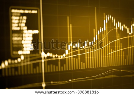 Candle stick graph chart of stock market investment trading.Forex graph, forex trading, forex chart, forex market, forex icon, forex logo, forex background, forex education, work for trading&analysis