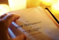 Candlelit New Testament