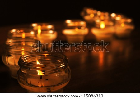 Candles for All Souls Day OTHER PHOTOS FROM THIS SERIES IN MY PORTFOLIO