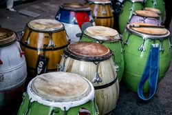 Candombe Drums, Uruguay traditional music