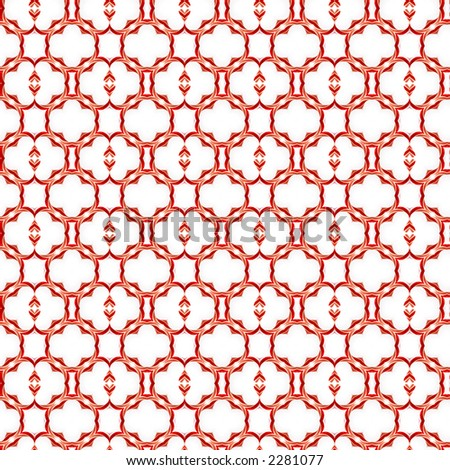 Candy canes in an abstract pattern design for use as holiday backgrounds.