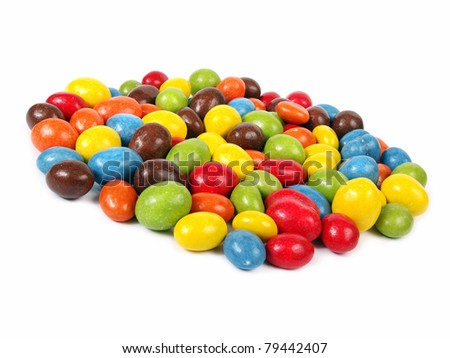 Candy - colorful chocolate peanuts