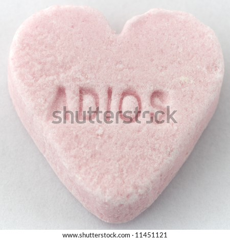Conversation Heart Candy. Candy conversation heart