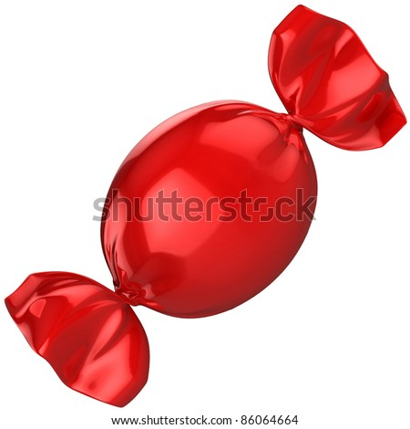 candy isolated - stock photo
