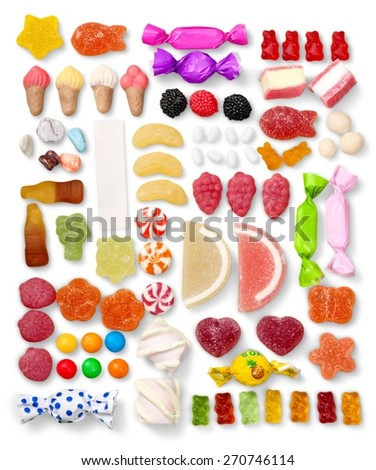 Candy, Isolated, Variation.