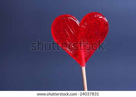 candy red heart